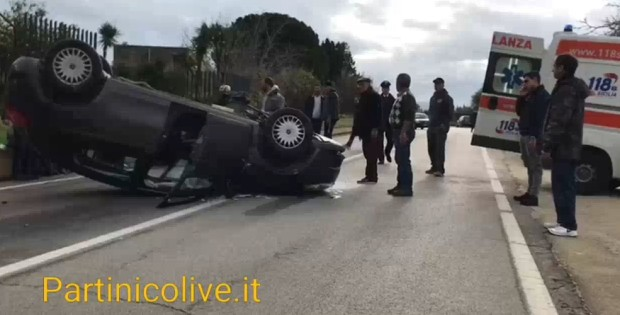 Partinico incidente ss 113 morta anziana Marianna Militello